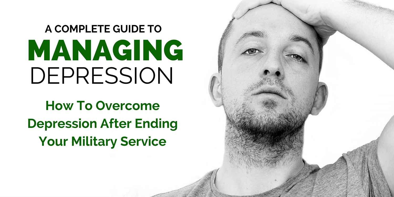 How to overcome depression after ending your military service